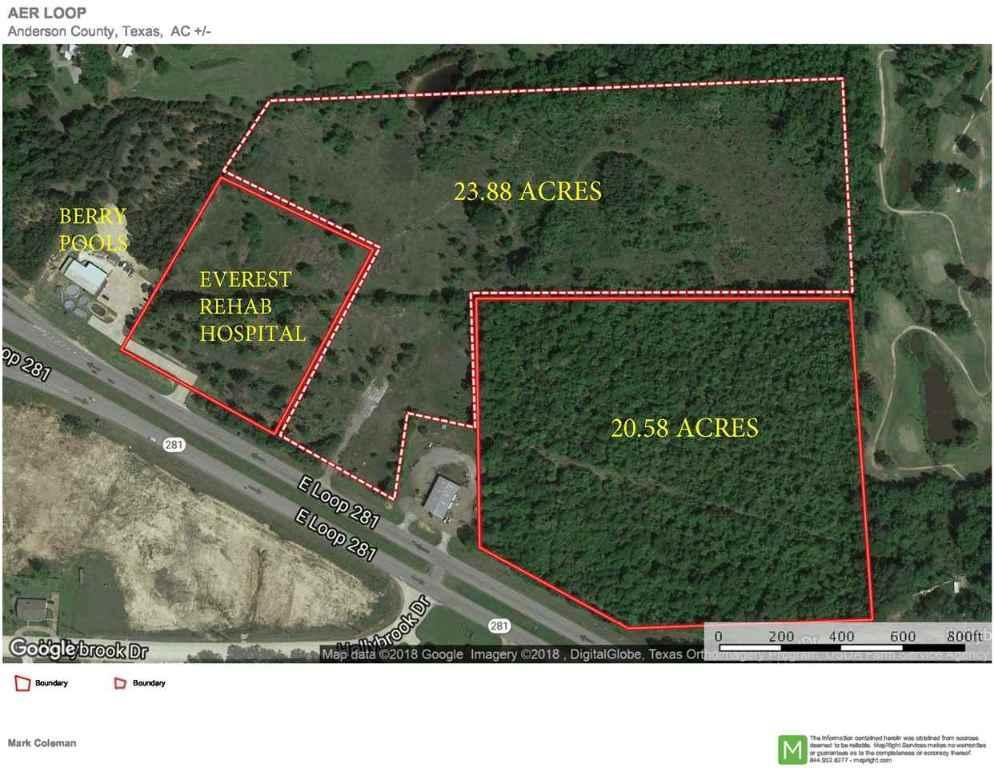 24 E Loop 281, 20163455, Longview, Acreage,  for sale