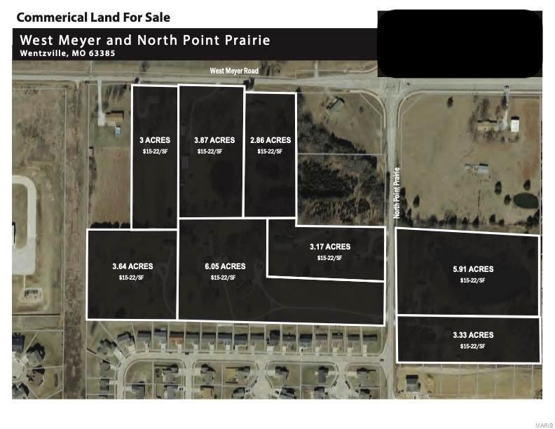 West Meyer & Pointe Prairie, Wentzville, Commercial & Indr.,  for sale