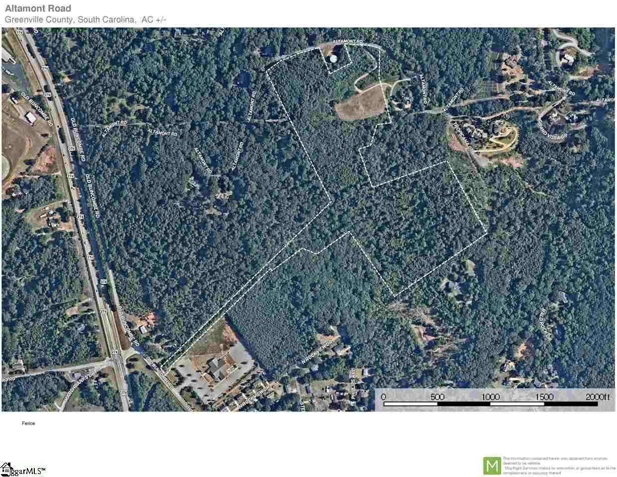 Altamont, 1431133, Greenville, Acreage,  for sale